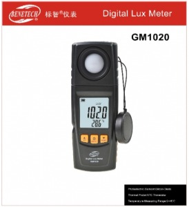 BENETECH 디지털 조도계 Digital Lux Meter GM-1020