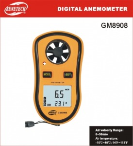 BENETECH 풍속계 Digital Anemometer GM-8908