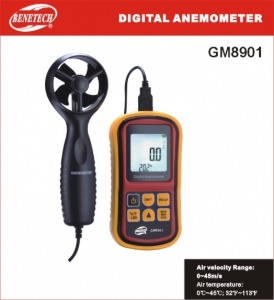 BENETECH 풍속계 Digital Anemometer GM-8901